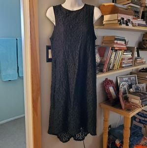 Black lace Apt. 9 high low dress
